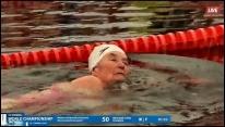 Железная бабушка Нина Максимова - серебряный призер 1 Кубка Арктики