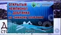 Чемпионат г. Добрянки по зимнему плаванию 2019