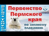 Первенство Пермского края по зимнему плаванию 2017